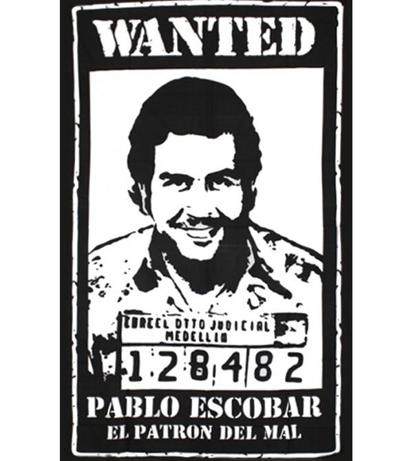TENTURE EL PATRON  - DRAPEAU PABLO ESCOBAR