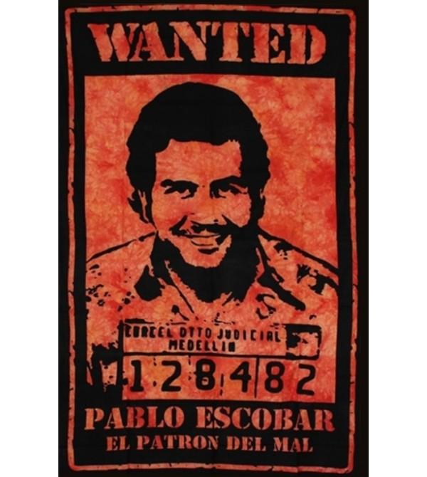 TENTURE EL PATRON  ORANGE - DRAPEAU PABLO ESCOBAR