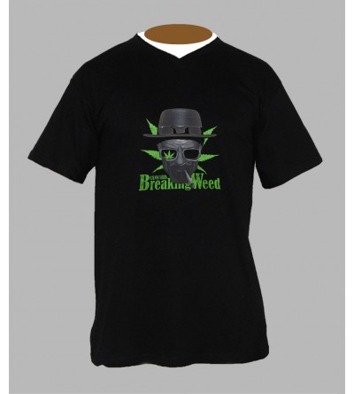 TEE SHIRT BREAKING PAS CHER - ACHETER T-SHIRT BREAKING WEED HOMME BOUTIQUE
