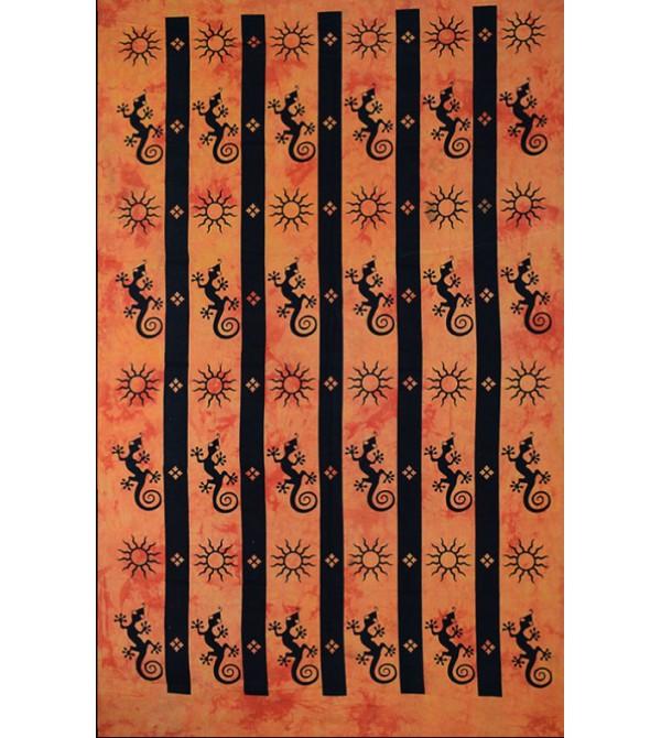 tenture tortue animal animaux soleil lune ethnique indienne tapisserie hippie tentures a7