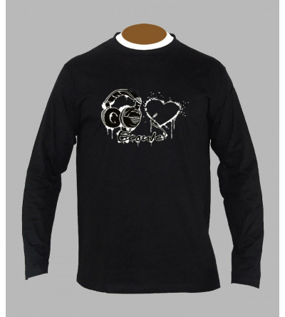 T-shirt originaux electro manches longues