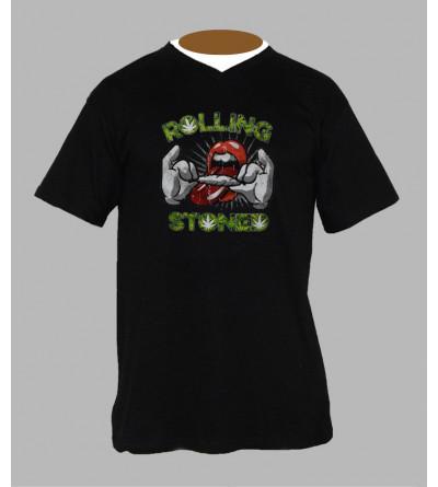 Tee shirt original homme rolling stones Col V