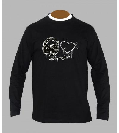 T-shirt original electro manches longues