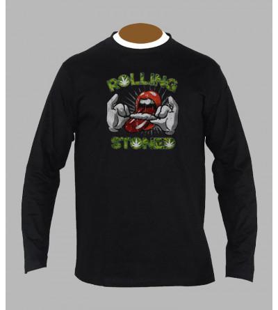 T-shirt original manches longues '' rolling stones ''