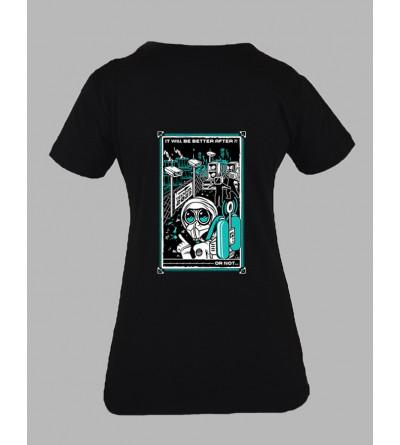 Streetwear Femme t-shirt teknival
