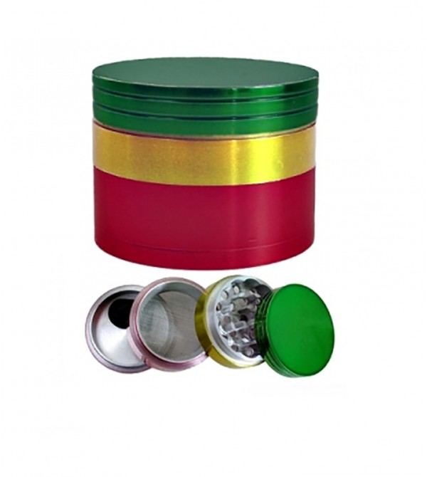 Grinder Bob Marley en alu 30 mm