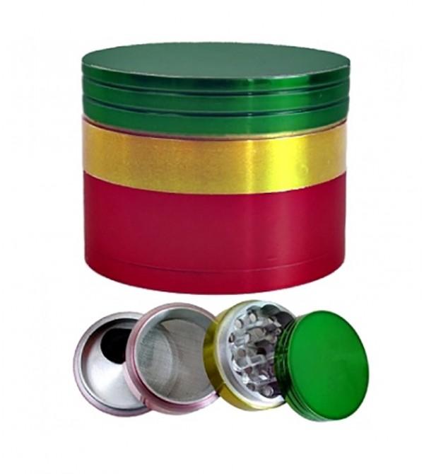 Grinder Bob Marley en alu 50 mm