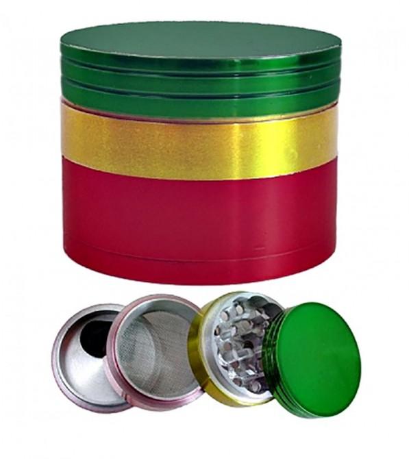 Grinder Bob Marley en alu 60 mm