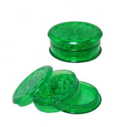 Grinder en acrylique vert 6 cm, grinder sans tamis