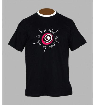Tee shirt techno spirale - Vêtement homme