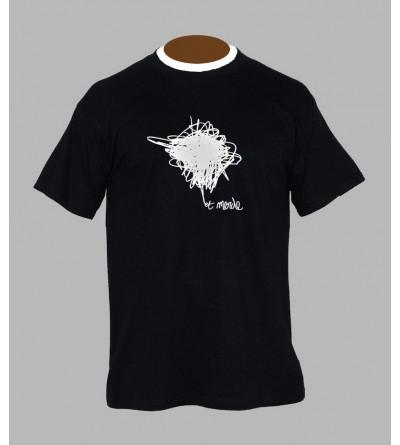 T-shirt electro '' Et Merde '' homme
