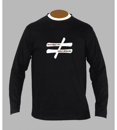 T-shirt techno hardtek manches longues