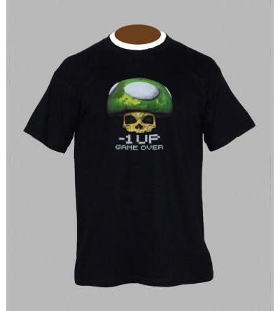 T-shirt champignon mario - Vêtement Homme