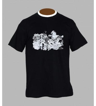 Tee shirt champignon homme '' Alice ''