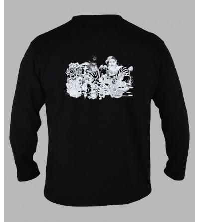 T-shirt champignon Alice manches longues '' Le dos ''