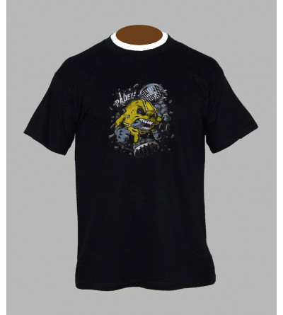 Tee shirt hardcore homme