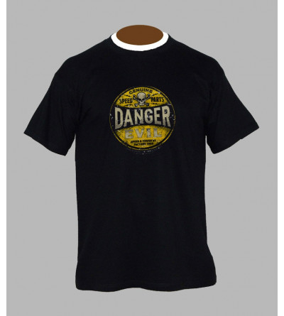T-shirt hardcore danger - Vêtement homme