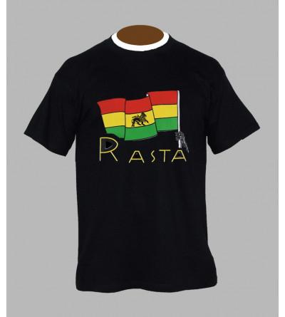 T-shirt rasta - Vêtement homme