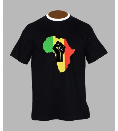 T-shirt rasta africa - Vêtement homme