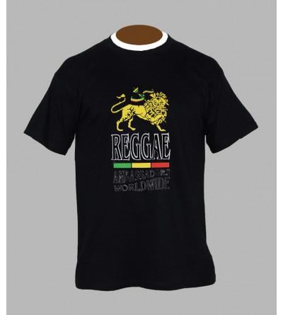 T-shirt rasta reggae - Vêtement homme