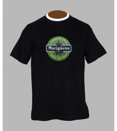 Tee shirt cannabis homme