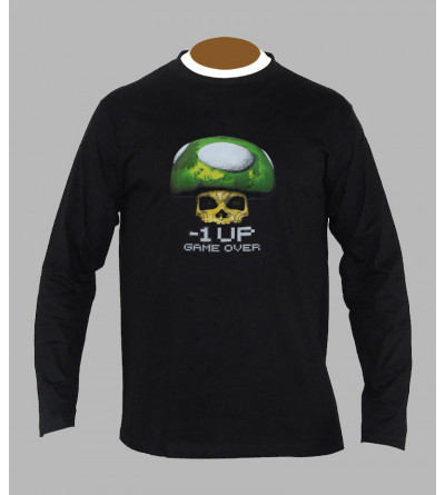 T-shirt trance champi homme manches longues