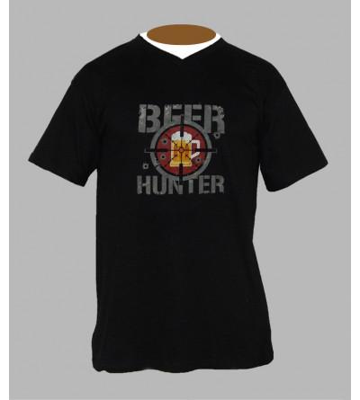 T-shirt humoristique homme Col V