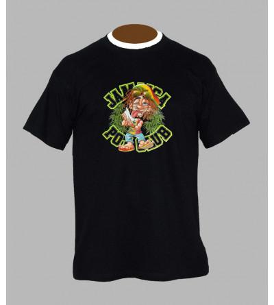 T-shirt fluo rasta - Vêtement homme