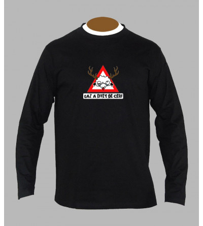 T-shirt hardstyle gaz manches longues