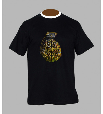 T-shirt freestyle grenade - Vêtement homme