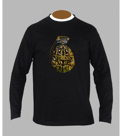 T-shirt freestyle grenade manches longues