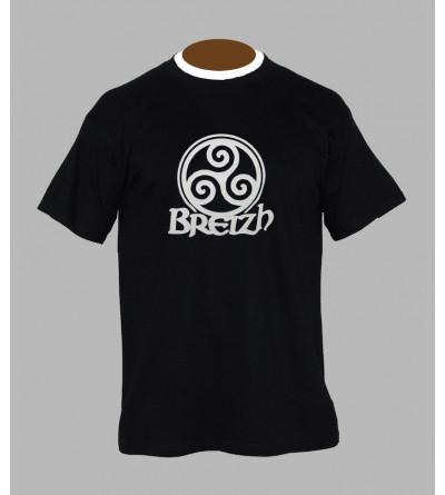 T-shirt breton homme '' BzH ''