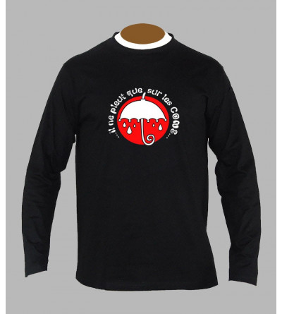 Tee shirt breton humoristique manches longues