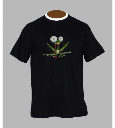 Tee shirt breton grenouille - Vêtement homme