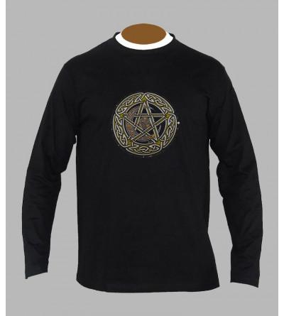 Tee shirt celtique homme manches longues