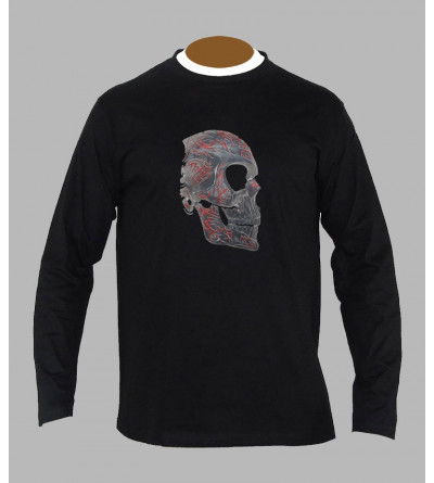 T-shirt tribal homme manches longues