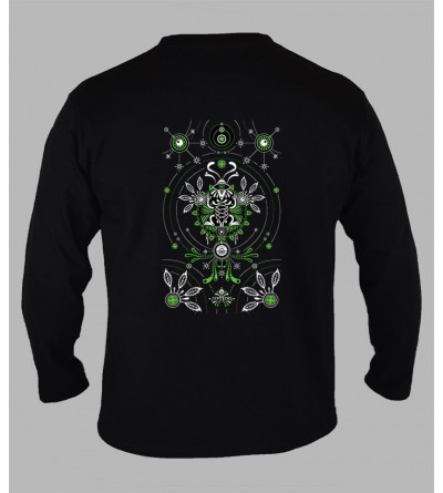 Tee shirt tribal homme manches longues