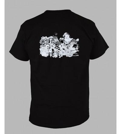 T-shirt psychédélique homme Alice '' Le dos ''