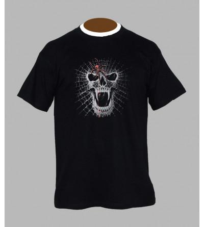 Tee shirt tête de mort homme