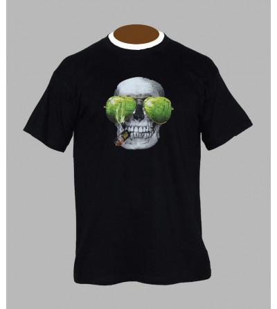T-shirt tête de mort homme