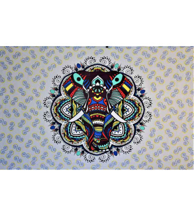 Tenture murale design éléphant