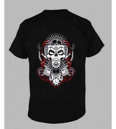 T-shirt sound system Col V ''Ref-110-b'' fringue teuf free party rave tekno tee shirt techno vetement 5