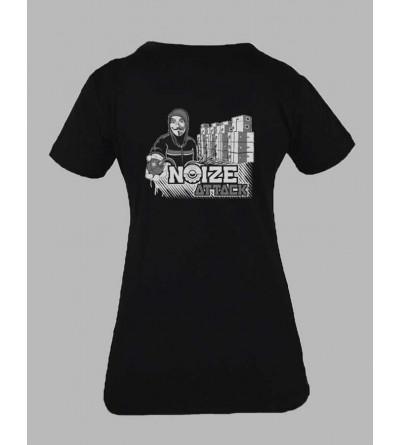 T-shirt sound system femme ''Ref 110'' fringue teuf free party sweat rave tekno tee shirt techno vetementfemme 5