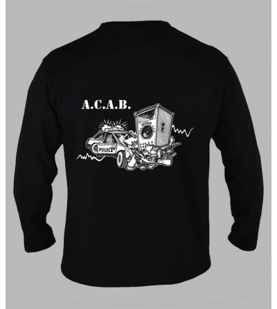 T-shirt ACAB '' 1312 '' fringue teuf free party rave tee-shirt acab ml 1312