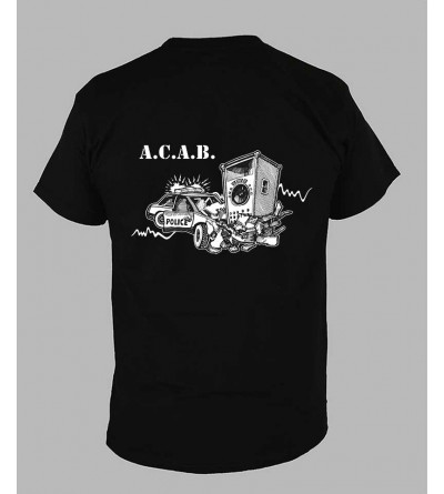 T-shirt ACAB homme 1312 - Fringue teuf free party tekno Tee Shirt acab
