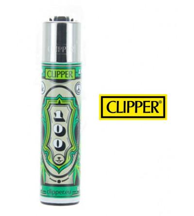Briquet Clipper Weed