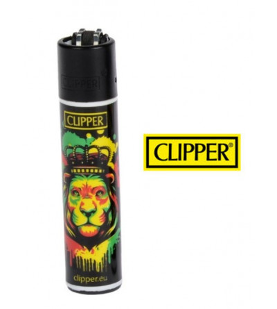 Briquet Clipper Bob Marley Lion