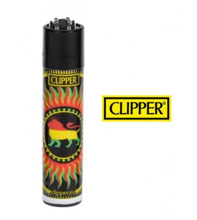 Briquet Clipper Bob Marley Rasta