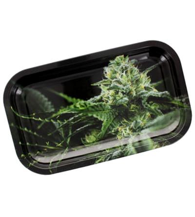 Plateau Fumeur Weed en Aluminium