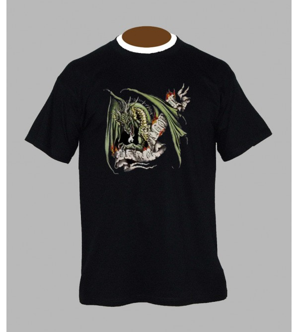 T-shirt tribal dragon - Vêtement homme